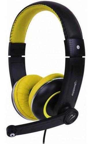 Fone De Ouvido Com Microfone Dobrável Roadstar Rs-280pc