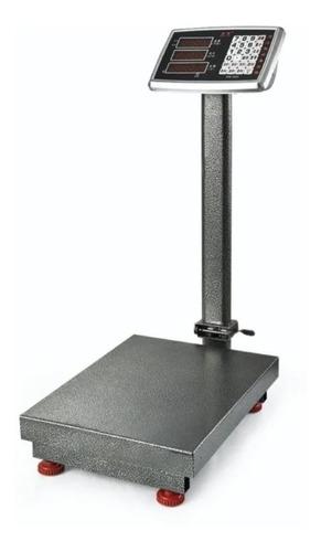Balanza Electronica 300 Kg/50g 45x60 Cm Plataforma Hierro