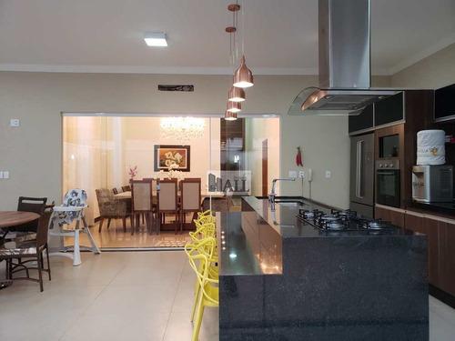 Casa À Venda Cond. Damha Vi, 230m², 3suítes, 4vgs, - Rio Preto - V5179