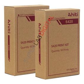 Papel Fotográfico 10x15 Para Impressora Hiti S420