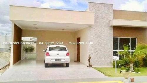 Casa Em Condomínio Para Venda Em Parnamirim, Parque Das Nações - Central Park 1, 3 Dormitórios, 1 Suíte, 2 Banheiros, 2 Vagas - Cas0984-c_2-856345