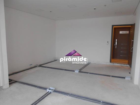 Sala Para Alugar, 38 M² Por R$ 1.800,00/mês - Jardim Aquarius - São José Dos Campos/sp - Sa0631