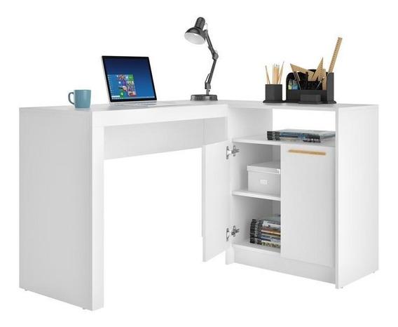 Mesa Para Computadora Escritorio Brv Moveis Frame Bc 65-06 B