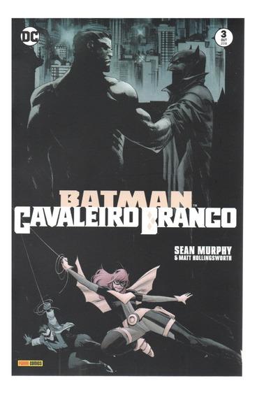 Batman Cavaleiro Branco 03 - Panini 3 - Bonellihq Cx266 L18