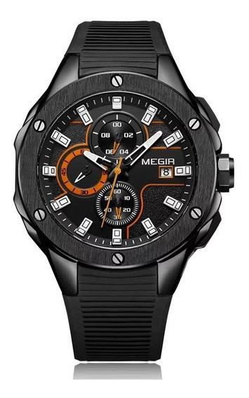 Relógio Masculino Top Esportivo Militar Megir 2053 Oferta