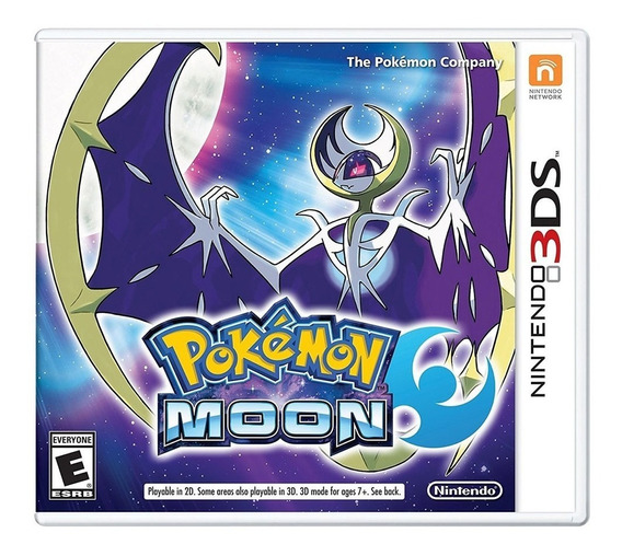 Pokemon Moon Nintendo 3ds Ibushak Gaming