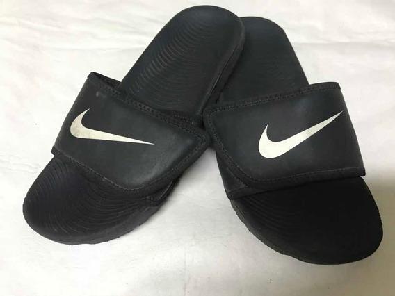 Ojotas Nike Nene Con Velcro Número 34