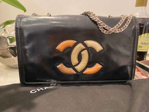 Bolsa Chanel Flap Bag Lipstick Original