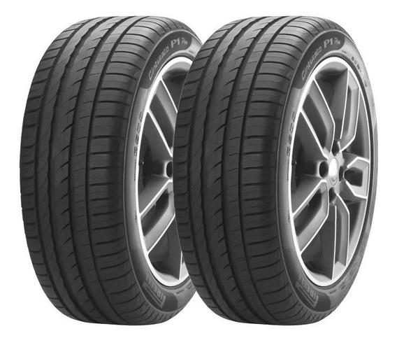 Kit Pneu Pirelli 215/45r17 Cinturato P1 Plus 91v 2 Unidades