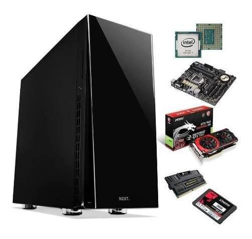 Computador Pc Gamer I7 4790k Gtx 960 Msi 8gb Ddr3 240gb Ssd
