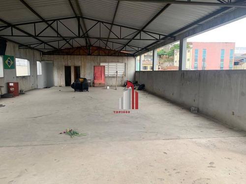 Galpão À Venda, 1700 M² Por R$ 3.280.000,50 - Piqueri - São Paulo/sp - Ga0006