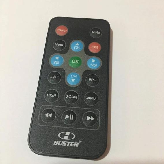 Controle Remoto Receptor Tv Automotivo H-buster Hbd-100b Ori