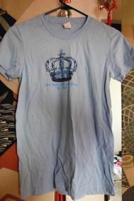 Blusa Hard Rock Cafe Baby Blue Crown Dama Mujer Las Vegas