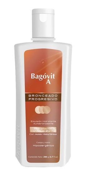 Bagovit A Emulsión Hidratante Autobronceante 200grs