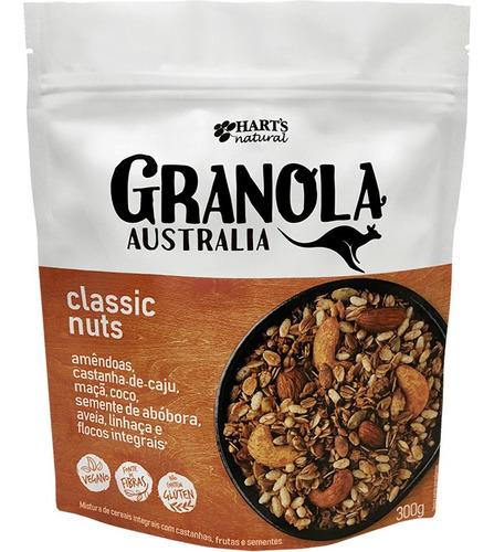 Granola Australian Classic Nuts, 300g, Harts Natural