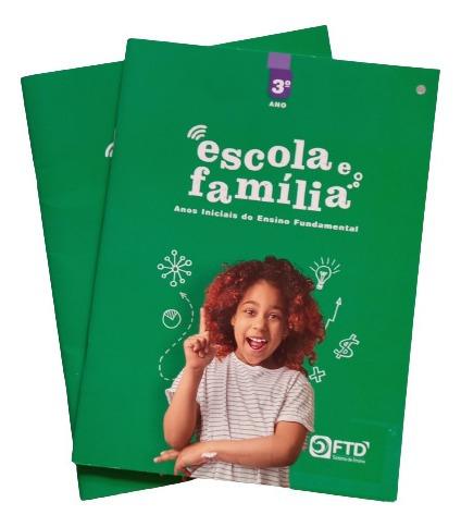 Livro Escola E Família Educação Emocional Editora Ftd 3 Ano