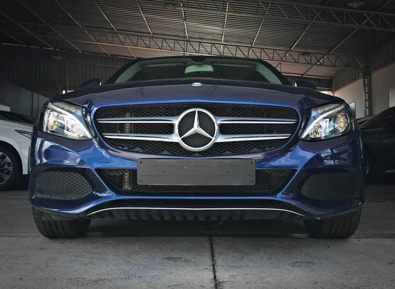 Mercedes Benz C180 Avantgarde Cgi 1.8. Azul 2016/17
