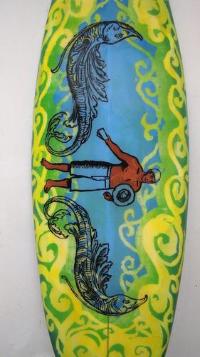 Imagen 1 de 2 de Tabla De Surf Para Decoración