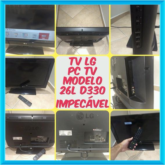 Tv Lg 26 Pc Tv Modelo 26l D330