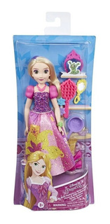 Muñeca Princesa Bella Rapunzel Con Accesorios E3048 Edu