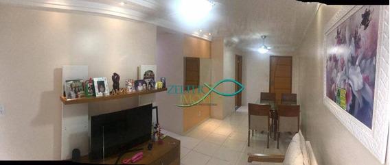 Luxuoso Apartamento De 95 M² De Frente Com Elevador! Pronto Para Entrar E Morar! - Ap1167