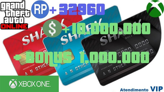 10.000.000 Gta$ Gta Online - Xbox One