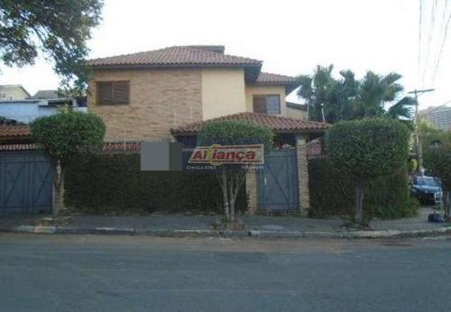 Sobrado Com 3 Dormitórios À Venda, 235 M² Por R$ 850.000 - Jardim Santa Mena - Guarulhos/sp - Ai11645