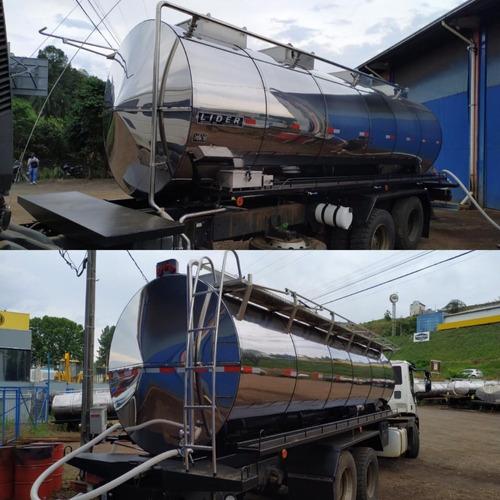 Tanque Rodoviário Em Inox Térmico.