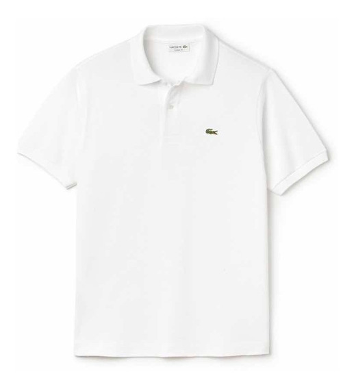 Lacoste L1212 Tipo Polo Classic Fit Color Blanco Original