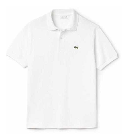 Lacoste L1212 Tipo Polo Classic Fit Color Blanco Original