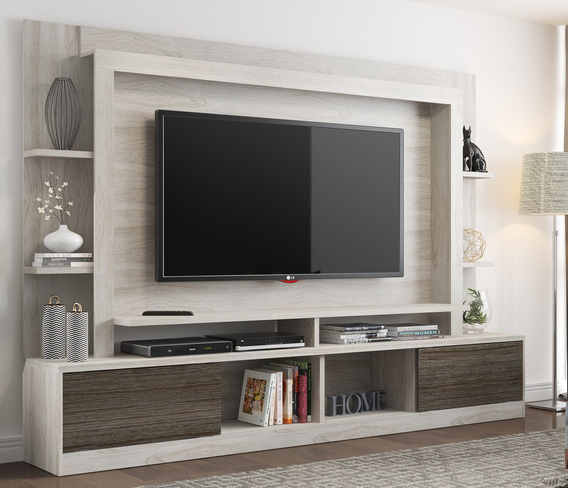 Estante Home Theater Moscou Multimóveis Para Tv 65 Polegadas