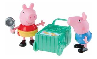 Set X2 Peppa Pig Carro Helados (7 Cm) A1118 - A1148