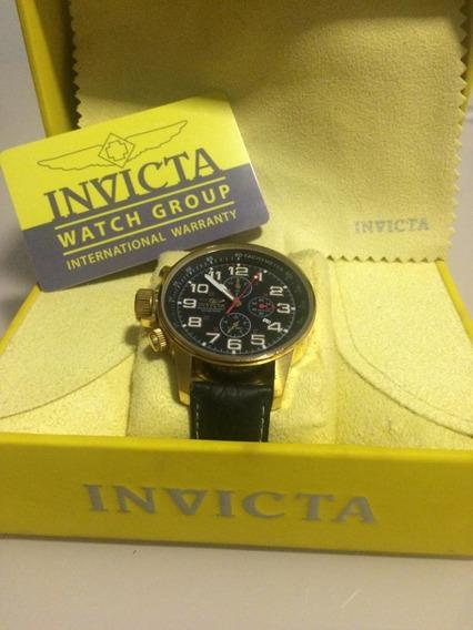 Relógio Invicta I Force 1515 Banhado Ouro 18k