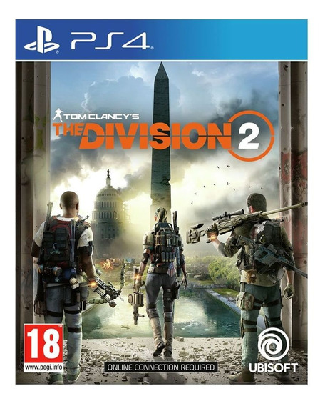 Tom Clancys The Division 2 - Ps4 Midia Fisica Em Português