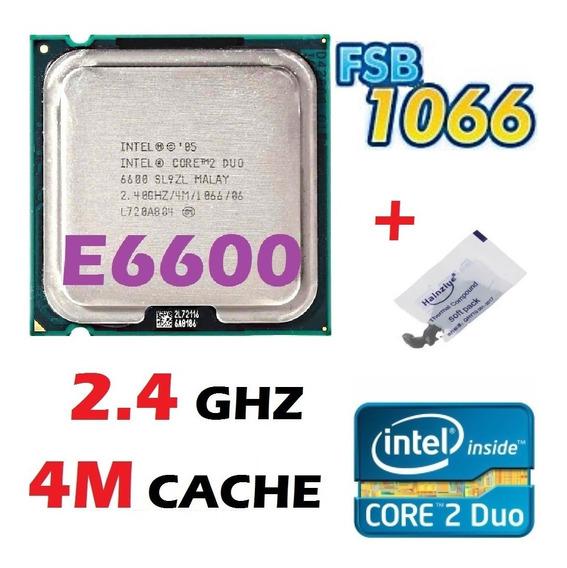Processador Intel Core 2 Duo E6600 2.40ghz 4mb Fsb 1066 775