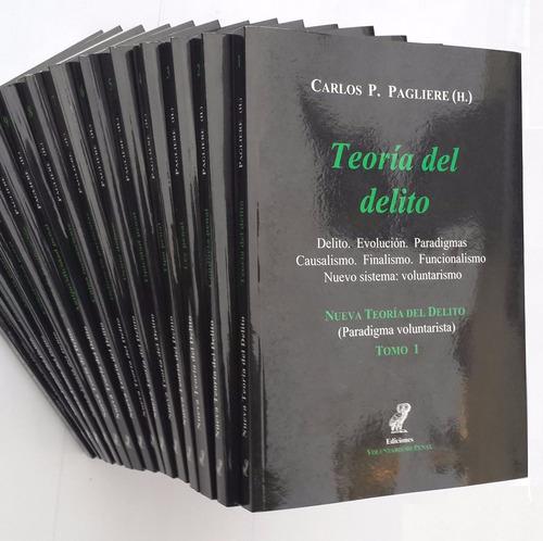 Nueva Teoría Del Delito - 15 Tomos - Carlos P. Pagliere (h.)