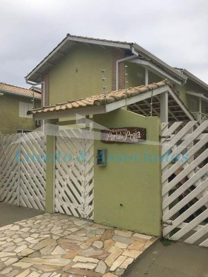 Sobrado Em Condominio Fechado Em Bertioga - 02 Dorms Com Piscina - So00109 - 33998950