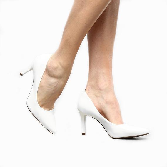 Sapato Scarpin Salto Médio Noiva Casamento Conforto 2019