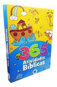 Livro 365 Desenho Para Colorir Bíblico Evangélico Criança