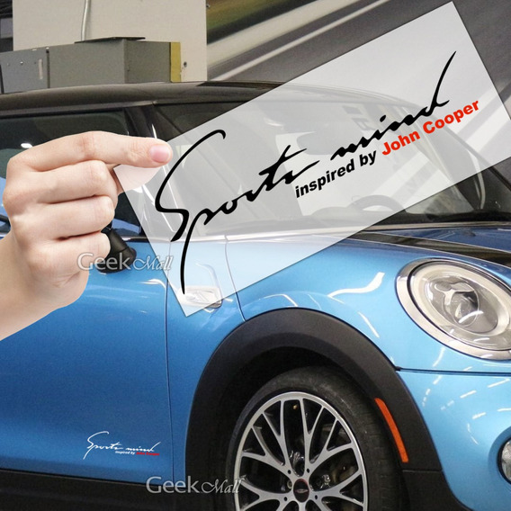 Adesivo Sports Mind Mini Cooper Jcw Countryman Paceman S