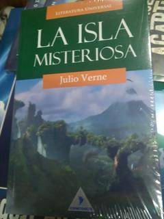 Libro La Isla Misteriosa Julio Verne Nuevo Y Original