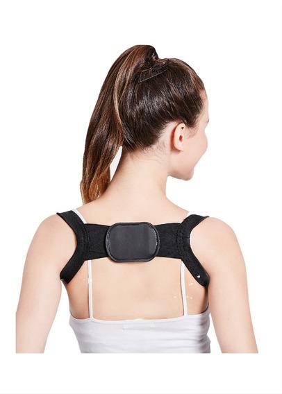 Corrector Postura Magnético Ajustable Espalda Cinturón Apoyo