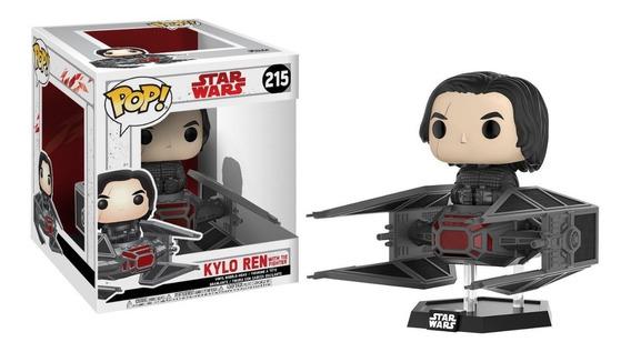 Funko Pop! Last Jedi Deluxe: Kylo Ren In Tie Fighter #215