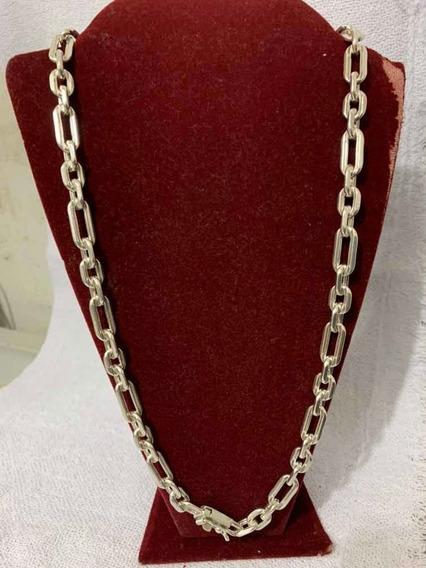 Cordão Prata 950 3x1 Cartier 107gr