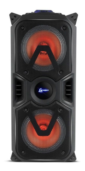 Caixa De Som Amplificada Lenoxx C/ Bluetooth Usb/sd/p10/aux