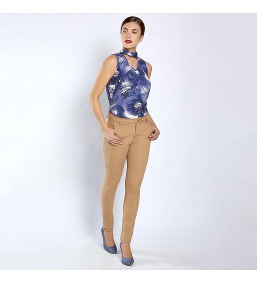 Jeans 12537 Pantalón Kakhi Tubo Skinny Tallas Extras Terra