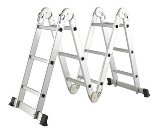 Escalera Multiuso En Aluminio 4x3 Ref Sk131