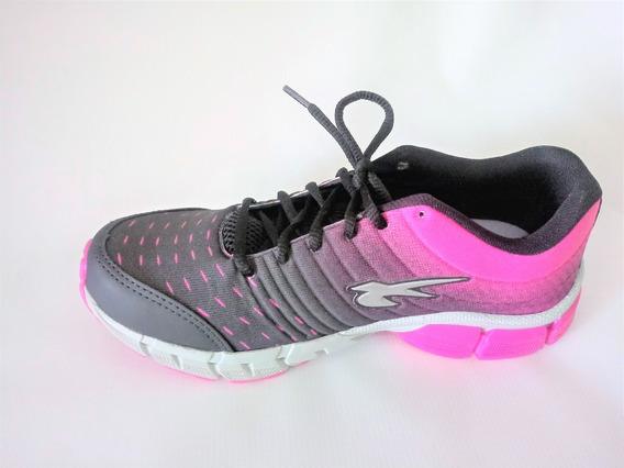Tenis Puggy Preto/pink Ou Preto/cinza