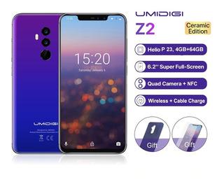 Celular Umidigi Z2 4gb + 64gb 6.2-inch Núcleo Octa Lte 16.0