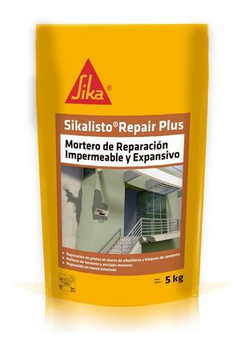 Imagen 1 de 7 de Sikalisto Repair Plus Mortero Reparación Impermeable 5 Kg